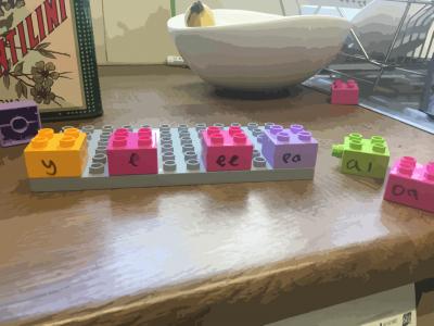 lego phonics activities