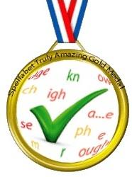 spelfabet-gold-medal