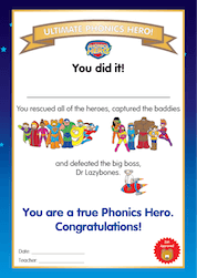 ultimate phonics hero