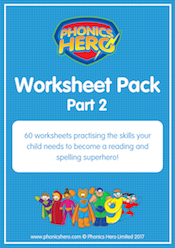 buy phonics worksheets - part 2