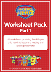 buy phonics worksheets - part 1