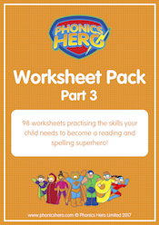 buy phonics worksheets - part 3