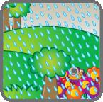 card_rain