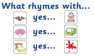 'Rhyming examples