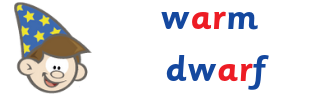 R controlled vowels - Wizard Words.