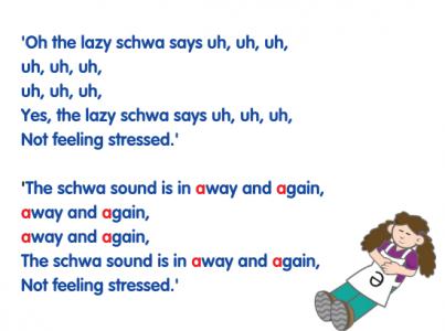 schwa-song